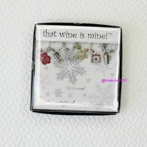 That Wine Is Mine! Wine Charms 6 Piece New in Box